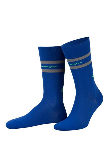 Burlington Socken TRASHMAN , Farbe: 6712 COBALT (Bild 1)