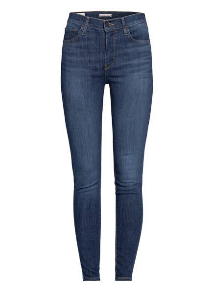 Levi's® Skinny Jeans 720 HIRISE SUPER SKINNY, Farbe: 23 ECHO STORM BLUE (Bild 1)