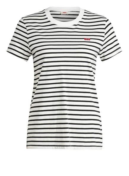 Levi's® T-Shirt PERFECT, Farbe: SCHWARZ/ WEISS GESTREIFT (Bild 1)