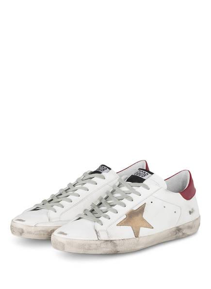 GOLDEN GOOSE DELUXE BRAND Sneaker SUPERSTAR, Farbe: WEISS (Bild 1)