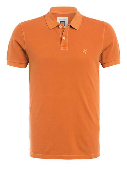 Marc O'Polo Pique-Poloshirt, Farbe: ORANGE (Bild 1)