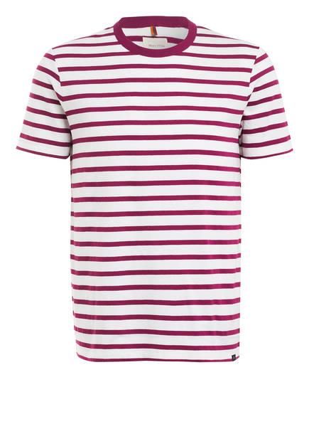 Marc O'Polo T-Shirt, Farbe: WEISS/ FUCHSIA (Bild 1)
