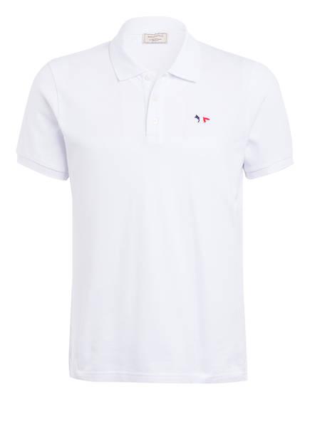 MAISON KITSUNÉ Piqué-Poloshirt , Farbe: WEISS (Bild 1)