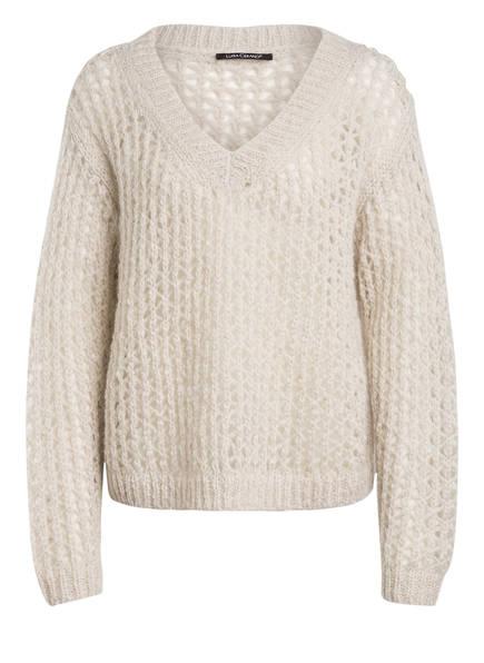 LUISA CERANO Pullover mit Mohair, Farbe: CREME (Bild 1)