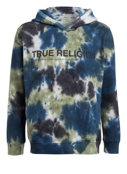 TRUE RELIGION Hoodie , Farbe: SCHWARZ/ OLIV/ BLAU (Bild 1)