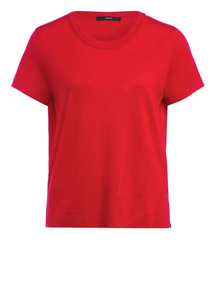 windsor. Strickshirt aus Merinowolle, Farbe: ROT (Bild 1)