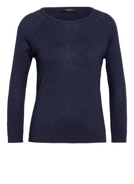 WEEKEND MaxMara Pullover BANDA mit Seide , Farbe: DUNKELBLAU (Bild 1)