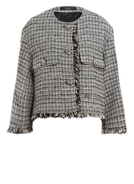 WEEKEND MaxMara Tweed-Blazer, Farbe: SCHWARZ/ WEISS (Bild 1)