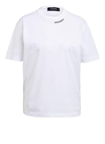 DSQUARED2 T-Shirt ROCK FIT, Farbe: WEISS (Bild 1)