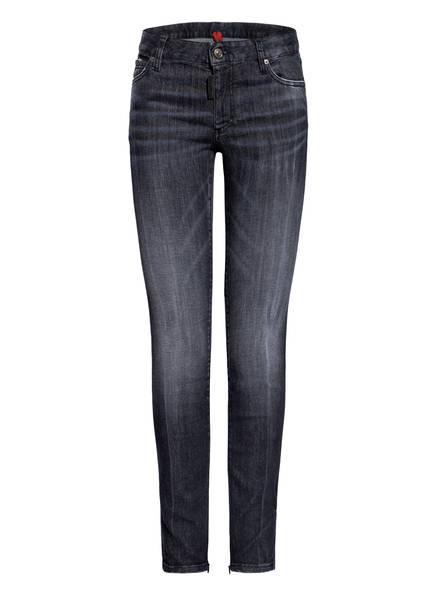 DSQUARED2 Skinny Jeans TWIGGY, Farbe: 900 BLACK (Bild 1)
