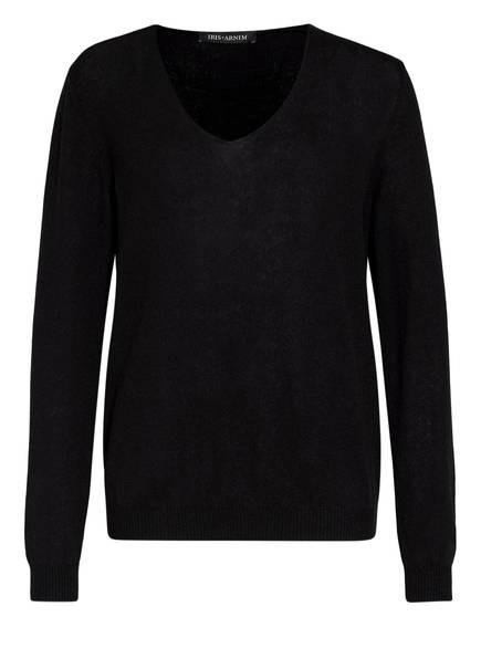 IRIS von ARNIM Cashmere-Pullover ADYNA, Farbe: SCHWARZ (Bild 1)