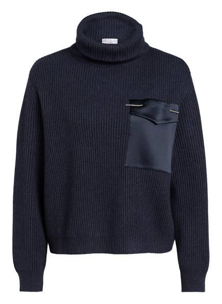 BRUNELLO CUCINELLI Cashmere-Rollkragenpullover, Farbe: DUNKELBLAU (Bild 1)