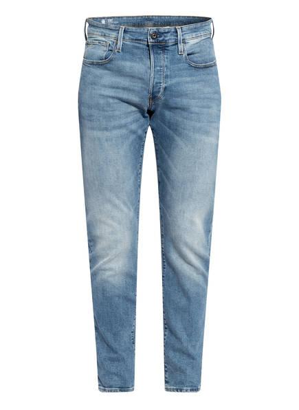 G-Star RAW Jeans 3301 Straight Tapered Fit, Farbe: 8436 LT INDIGO AGED BLUE (Bild 1)