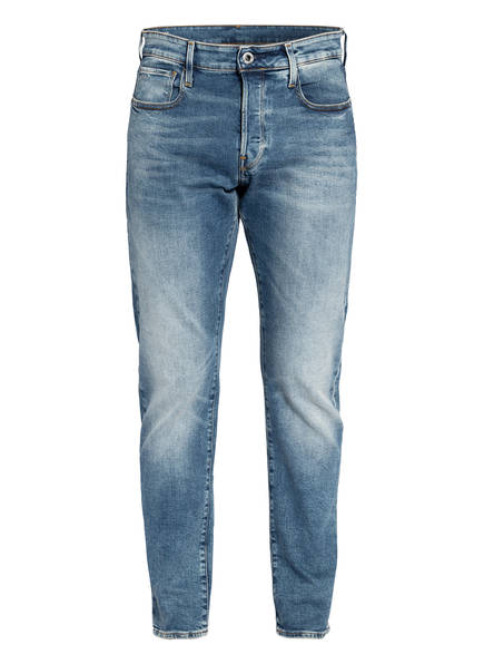 G-Star RAW Jeans 3301 Straight Tapered Fit, Farbe: A802 VINTAGE AZURE BLUE (Bild 1)
