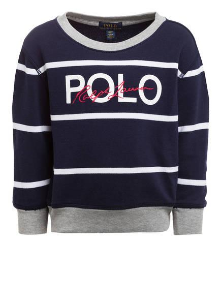 POLO RALPH LAUREN Sweatshirt, Farbe: DUNKELBLAU/ WEISS (Bild 1)