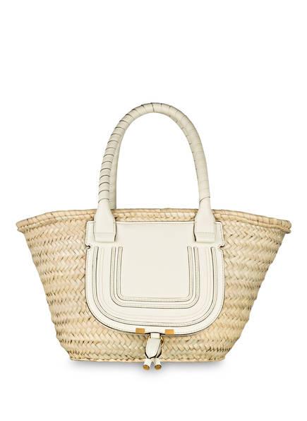 Chloé Shopper BASKET MARCIE, Farbe: NATURAL WHITE (Bild 1)