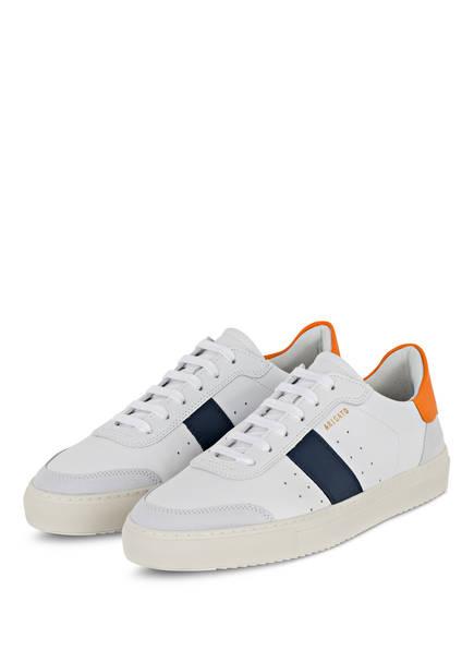 AXEL ARIGATO Sneaker DUNK, Farbe: WEISS/ ORANGE/ DUNKELBLAU (Bild 1)