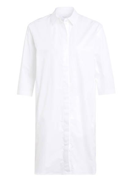 Marc O'Polo Pure Hemdblusenkleid mit 3/4-Arm, Farbe: WEISS (Bild 1)