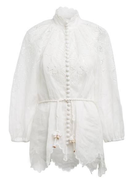 ZIMMERMANN Bluse CARNABY mit 3/4-Arm , Farbe: WEISS (Bild 1)