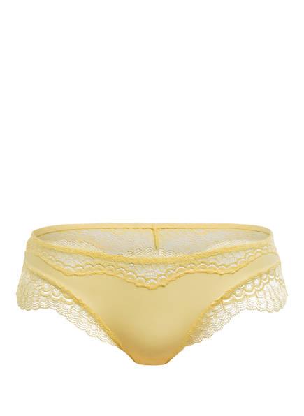 SIMONE PÉRÈLE Panty ÉCLAT, Farbe: HELLGELB (Bild 1)