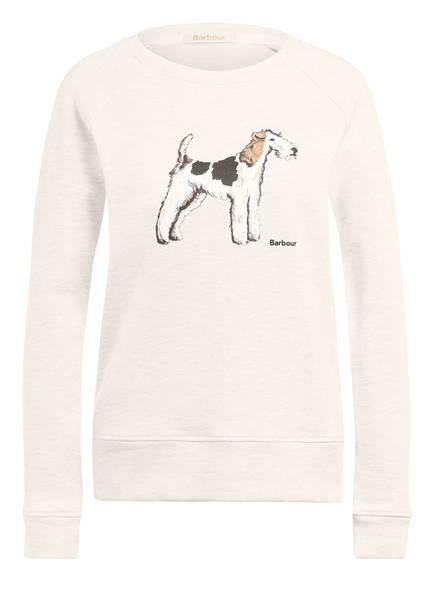 Barbour Sweatshirt SADDLE OVERLAY, Farbe: ECRU (Bild 1)