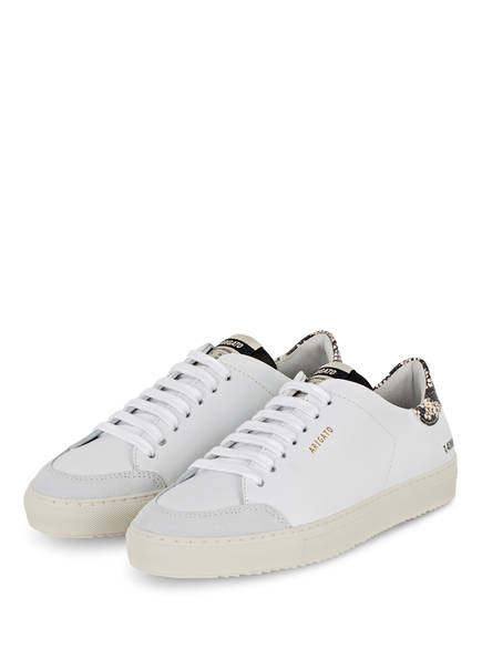 AXEL ARIGATO Sneaker CLEAN 90 TRIPLE, Farbe: WEISS/ CREME/ SCHWARZ (Bild 1)