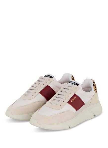 AXEL ARIGATO Plateau-Sneaker GENESIS VINTAGE, Farbe: CREME/ DUNKELROT  (Bild 1)