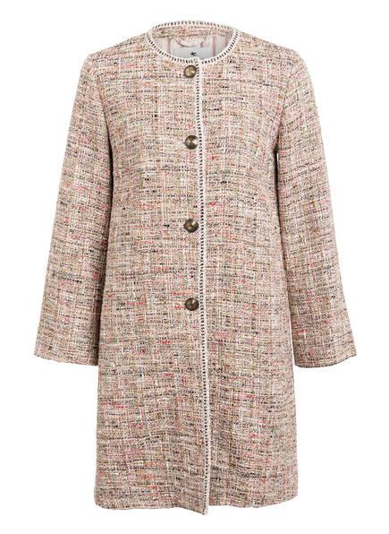 ETRO Tweed-Mantel, Farbe: BEIGE/ ROSA (Bild 1)