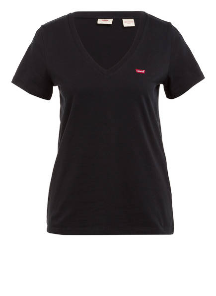 Levi's® T-Shirt PERFECT, Farbe: SCHWARZ (Bild 1)
