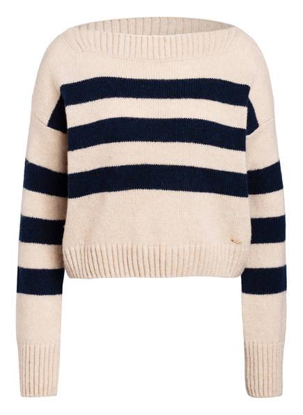 CINQUE Pullover CIMALA , Farbe: BEIGE/ DUNKELBLAU (Bild 1)