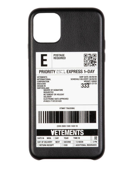 VETEMENTS Smartphone-Hülle, Farbe: SCHWARZ/ WEISS (Bild 1)