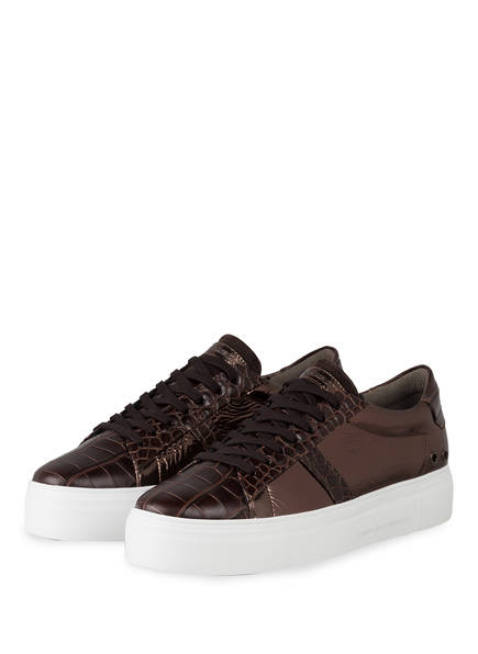 KENNEL & SCHMENGER Plateau-Sneaker BIG, Farbe: BRAUN (Bild 1)