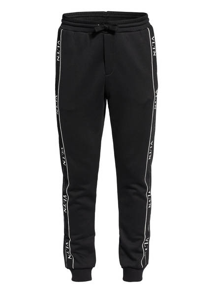 VALENTINO Sweatpants mit Galonstreifen, Farbe: SCHWARZ (Bild 1)