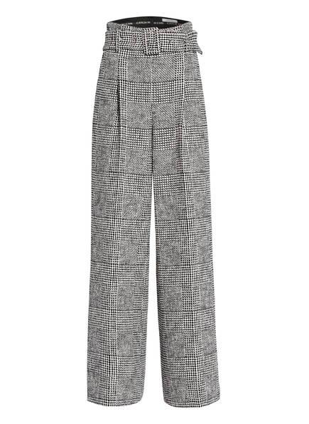 DOROTHEE SCHUMACHER Tweed-Marlenehose, Farbe: SCHWARZ/ WEISS (Bild 1)
