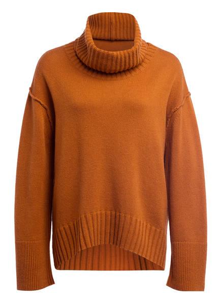 DOROTHEE SCHUMACHER Pullover mit Cashmere, Farbe: DUNKELORANGE (Bild 1)