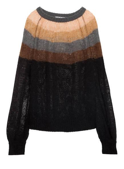 MUNTHE Pullover LALUPON, Farbe: SCHWARZ/ BRAUN/ NUDE (Bild 1)