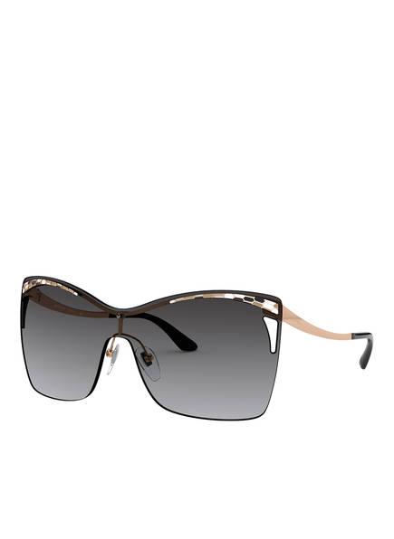 BVLGARI Sunglasses Sonnenbrille BV6138, Farbe: 20148G - SCHWARZ/ GRAU VERLAUF (Bild 1)