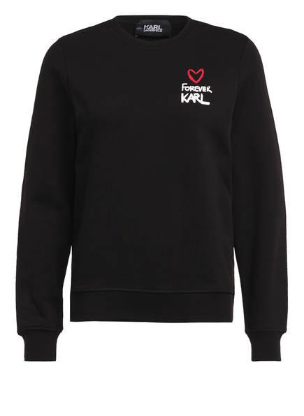 KARL LAGERFELD Sweatshirt FOREVER KARL, Farbe: SCHWARZ (Bild 1)