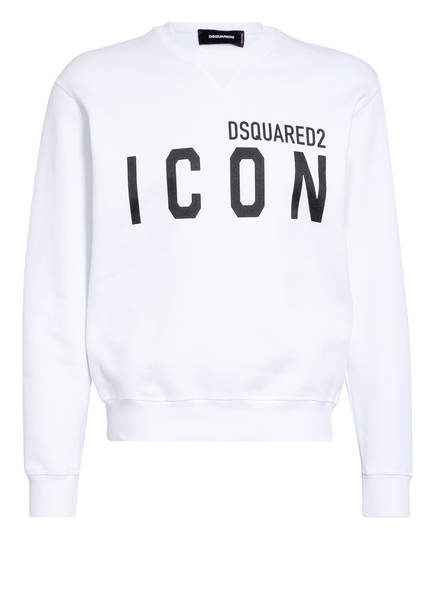 DSQUARED2 Sweatshirt ICON, Farbe: WEISS (Bild 1)