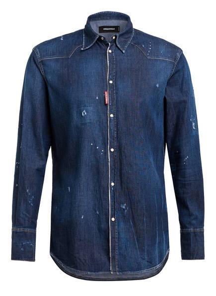DSQUARED2 Jeans-Overshirt RELAX DAN Regular Fit, Farbe: 470 BLUE (Bild 1)