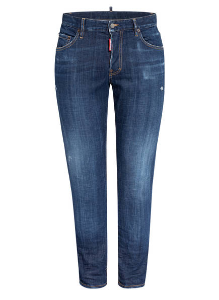 DSQUARED2 Jeans THEDOUBLEF Extra Slim Fit, Farbe: 470 BLUE (Bild 1)