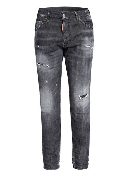 DSQUARED2 Destroyed Jeans COOL GUY Extra Slim Fit, Farbe: 900 BLACK (Bild 1)