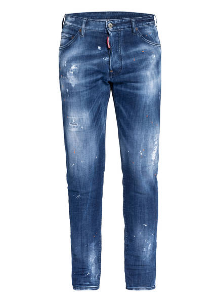 DSQUARED2 Destroyed Jeans COOL GUY Extra Slim Fit, Farbe: 470 BLUE (Bild 1)