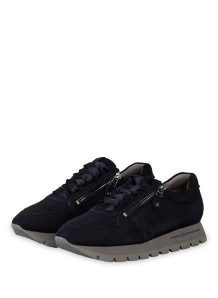 KENNEL & SCHMENGER Plateau-Sneaker RISE X, Farbe: DUNKELBLAU (Bild 1)