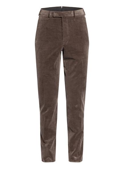 Ermenegildo Zegna Anzughose MILANO Extra Slim Fit aus Cord, Farbe: F01 taupe (Bild 1)