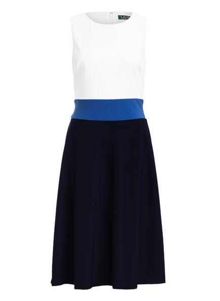 LAUREN RALPH LAUREN Kleid , Farbe: DUNKELBLAU/ WEISS/ BLAU (Bild 1)
