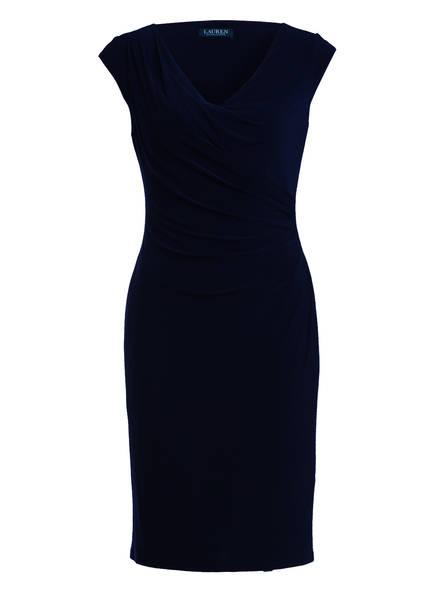 LAUREN RALPH LAUREN Kleid BRANDIE in Wickeloptik, Farbe: DUNKELBLAU (Bild 1)