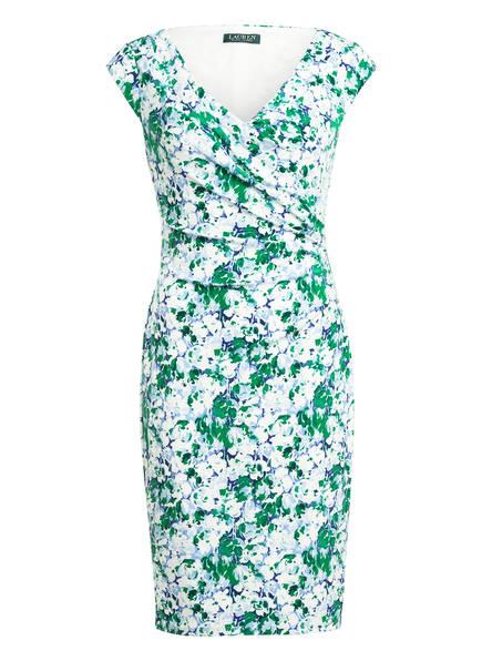 LAUREN RALPH LAUREN Jerseykleid , Farbe: WEISS/ GRÜN/ HELLBLAU (Bild 1)