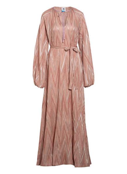 M MISSONI Kleid mit Glitzergarn, Farbe: ROSÉ (Bild 1)