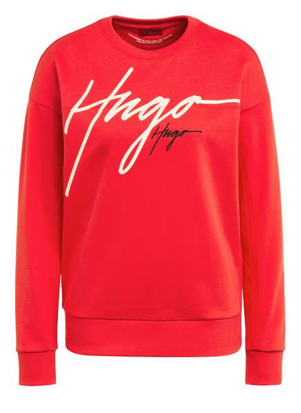 HUGO Sweatshirt NACINIA, Farbe: ROT (Bild 1)